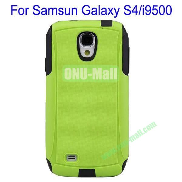 High Quality 2 in 1 Commuter Case Cover for Samsung Galaxy S4i9500(Green+Black)