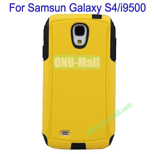 High Quality 2 in 1 Commuter Case Cover for Samsung Galaxy S4i9500(Yellow+Black)