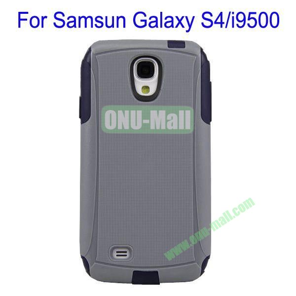 High Quality 2 in 1 Commuter Case Cover for Samsung Galaxy S4i9500(Grey+Black)