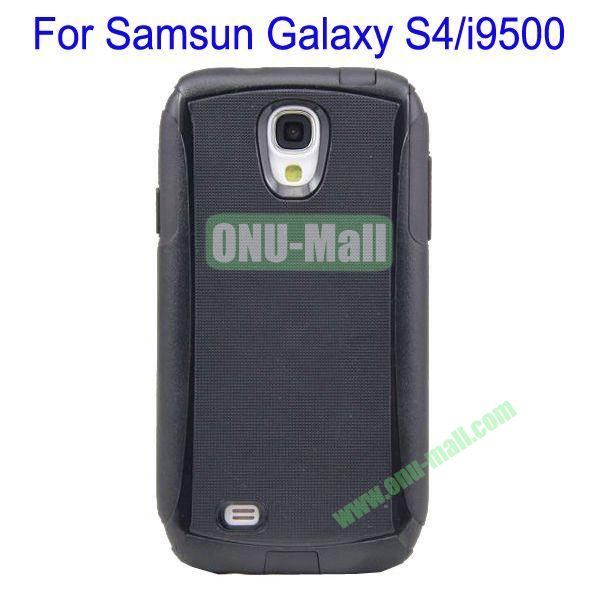 High Quality 2 in 1 Commuter Case Cover for Samsung Galaxy S4i9500(Black)