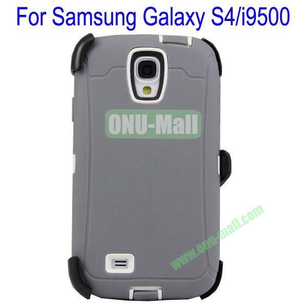 High Quality 3 in 1Defender Case Cover for Samsung Galaxy S4i9500(Grey+Black)