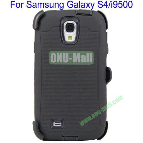 High Quality 3 in 1Defender Case Cover for Samsung Galaxy S4i9500(Black)