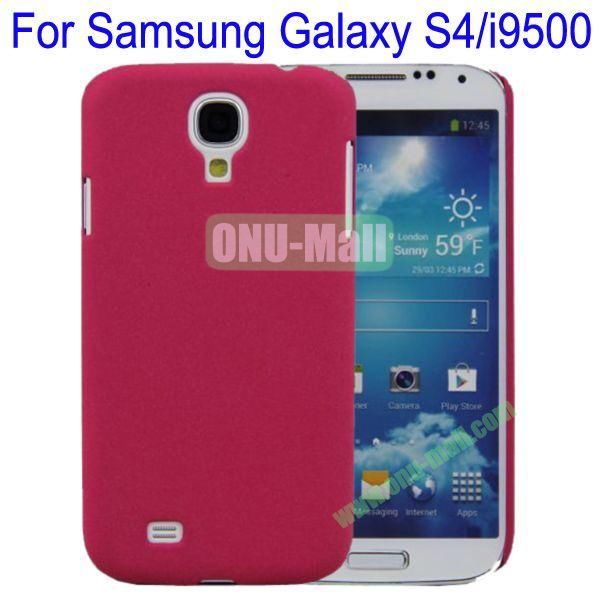 Ultrathin Quicksand Hard Case Cover for Samsung Galaxy S4i9500(Rose)