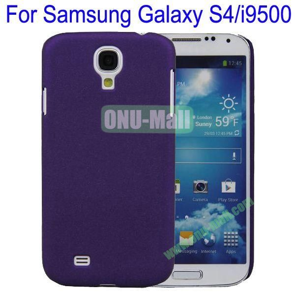 Ultrathin Quicksand Hard Case Cover for Samsung Galaxy S4i9500(Purple)