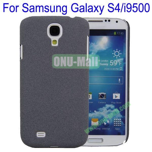 Ultrathin Quicksand Hard Case Cover for Samsung Galaxy S4i9500(Grey)