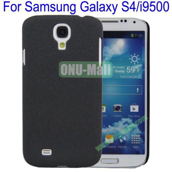 Ultrathin Quicksand Hard Case Cover for Samsung Galaxy S4i9500(Black)