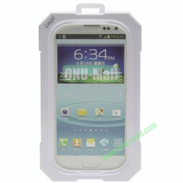 High Quality Sealed Waterproof Protective Case for Samsung Galaxy S4i9500,Galaxy S3i9300(White)