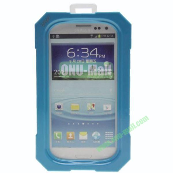High Quality Sealed Waterproof Protective Case for Samsung Galaxy S4i9500,Galaxy S3i9300(Blue)