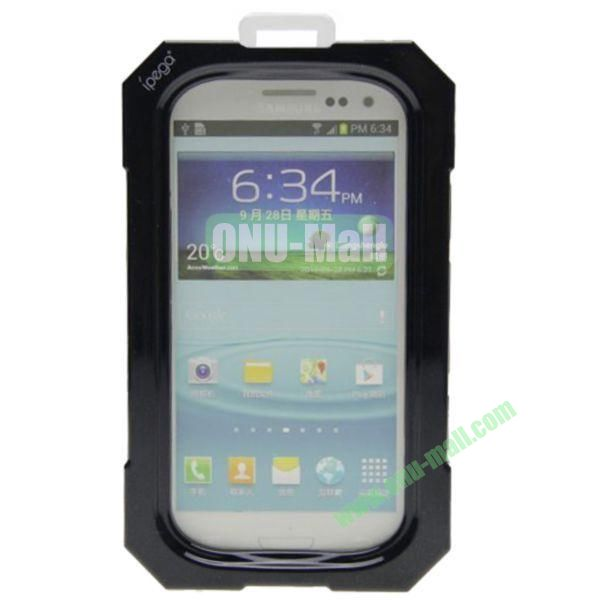 High Quality Sealed Waterproof Protective Case for Samsung Galaxy S4i9500,Galaxy S3i9300(Black)