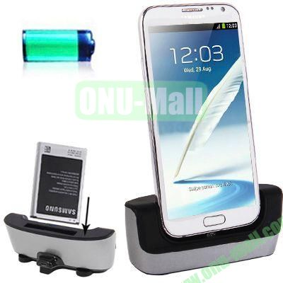 Dual Sync Cradle Dock Charger for Samsung Galaxy Note 2 II  Galaxy S3 S2  Galaxy Note i9220  Galaxy Nexus i9250, etc