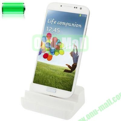 Desktop Dock Charger for Samsung Galaxy S4 SIV  i9500(White)