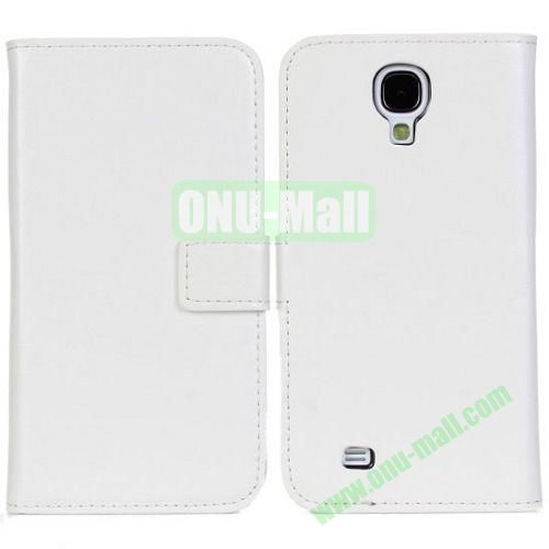 Crazy Horse Texture Leather Case with Card Slots and Holder for Samsung Galaxy S4I9500 (White)