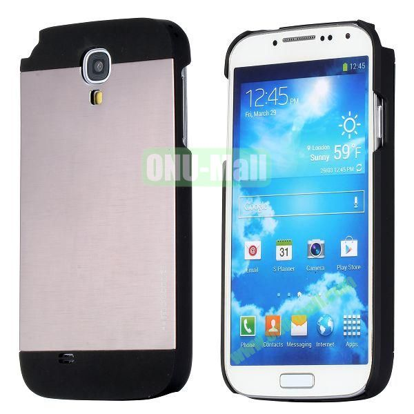 Motomo Aluminium Alloy Hard Case for Samsung Galaxy S4  I9500 (Brown)