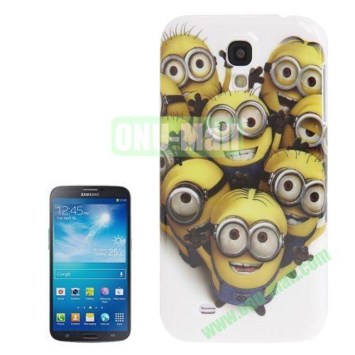 for Samsung Galaxy S4I9500 Minions Pattern Plastic Case