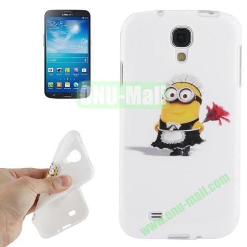 For Samsung Galaxy S IVI9500 Minions Pattern TPU Case