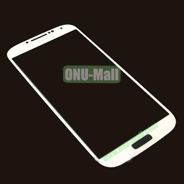 LCD Touch Screen Digitizer Lens Glass Replacement for Samsung Galaxy S4 i9500 (White)
