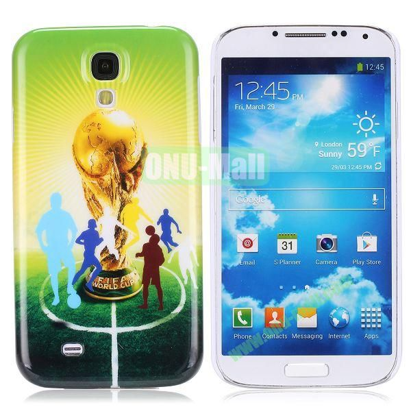 2014 FIFA Mascot Brazil World Cup Pattern Smooth Plastic Hard Back Case for Samsung Galaxy S4 i9500 (World Cup)