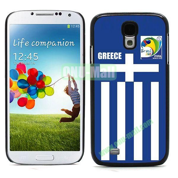 2014 FIFA World Cup Team Flag Pattern Hard Case for Samsung Galaxy S4 i9500
