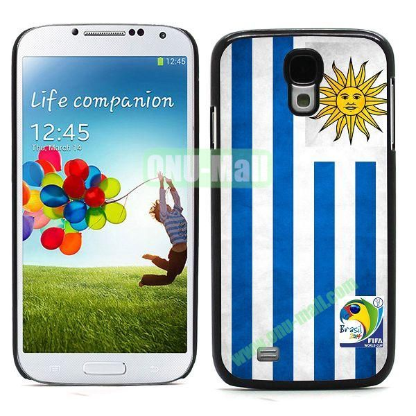 2014 FIFA World Cup Team Uruguay Flag Pattern Hard Case for Samsung Galaxy S4 i9500