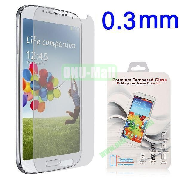 0.3mm Explosion-proof Tempered Glass Screen Protector Film Guard for for Samsung Galaxy S4 i9500