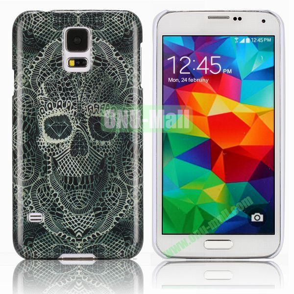 Fantasy Skull Head Pattern Smooth Hard Case for Samsung Galaxy S5  I9600