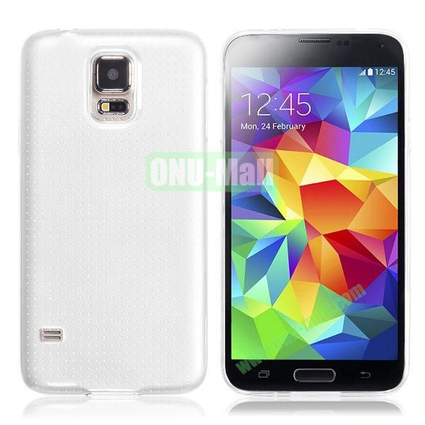HOCO 0.5mm Ultrathin Soft TPU Case for Samsung I9600 Galaxy S5 (Transparent)