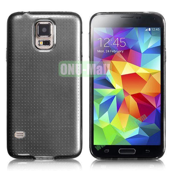 HOCO 0.5mm Ultrathin Soft TPU Case for Samsung I9600 Galaxy S5 (Black)