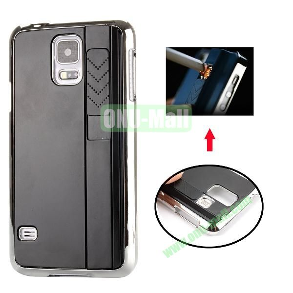 New Arrival Creative Cigarette Lighter Phone Case For Samsung Galaxy S5 I9600 G900 (Black)