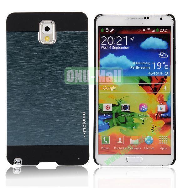 Motomo Aluminium Alloy Hard Case for Samsung Note 3  N9000 (Dark Blue)