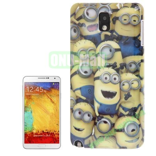 for Samsung Galaxy Note IIIN9000 Minions Pattern Plastic Case