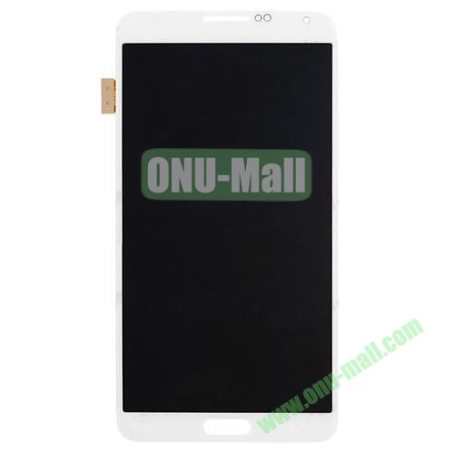 OEM LCD Assembly Digitizer with Touch Screen for Samsung Galaxy Note 3 N9000 (White)