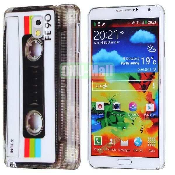 PC Hard Case For Samsung Galaxy Note 3 N9000 (Tap FE90 Words Pattern)