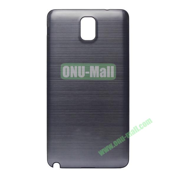 Brushed Metal Design Battery Back Cover Case For Samsung Galaxy Note 3 N9000 (Gray)