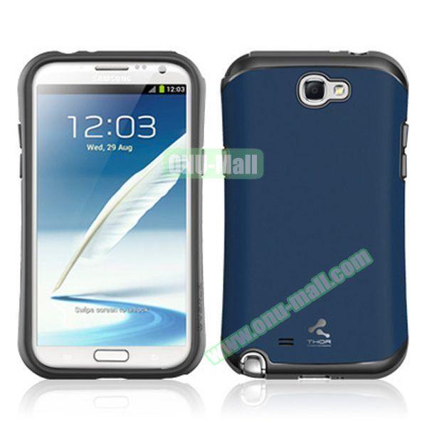 Korea VERUS THOR Armor Hybrid Case for Samsung Galaxy Note 2 (Black)