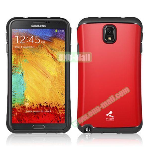 Korea VERUS THOR Armor Hybrid Case for Samsung Galaxy Note 3 (Red)