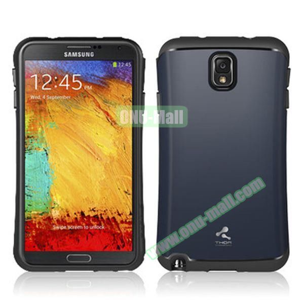 Korea VERUS THOR Armor Hybrid Case for Samsung Galaxy Note 3 (Navy)