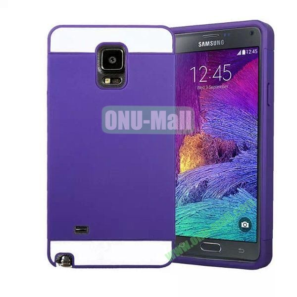 Mix Color PC Hard Case for Samsung Galaxy Note 4 (Purple)