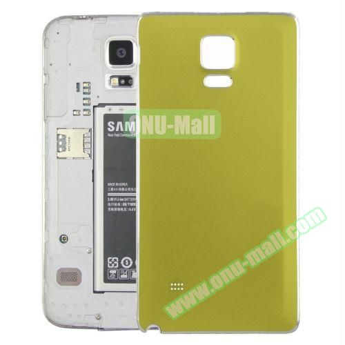 Replacement Frosted Back Cover for Samsung Galaxy Note 4 (Green)