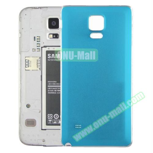 Replacement Frosted Back Cover for Samsung Galaxy Note 4 (Light Blue)