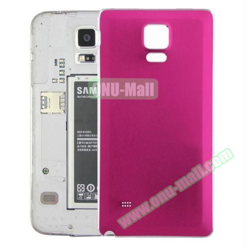 Replacement Frosted Back Cover for Samsung Galaxy Note 4 (Rose)