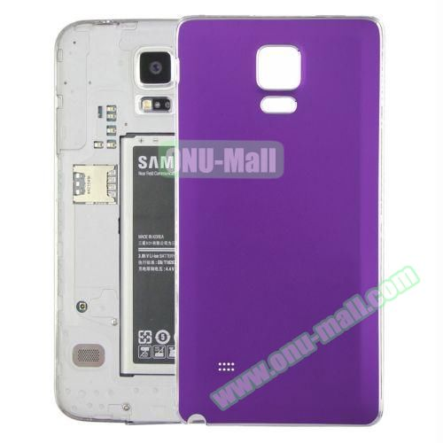 Replacement Frosted Back Cover for Samsung Galaxy Note 4 (Purple)