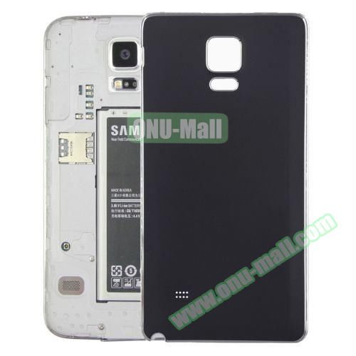 Replacement Frosted Back Cover for Samsung Galaxy Note 4 (Black)
