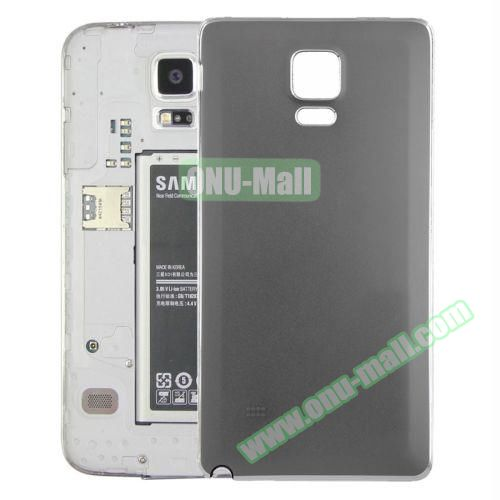 Replacement Frosted Back Cover for Samsung Galaxy Note 4 (Grey)