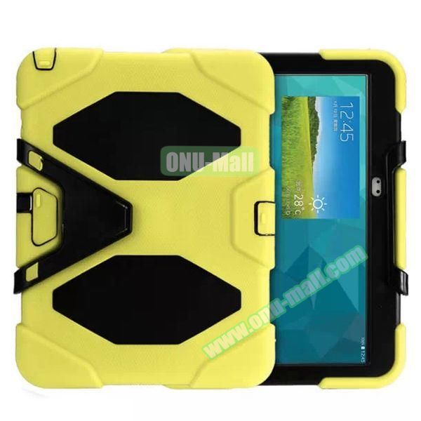 Military Anti-Shock Case for Samsung Galaxy Tab 3 P5200 (Yellow)