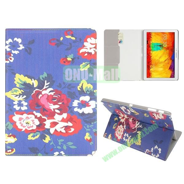 Flip Leather Case for Samsung Galaxy Note 10.1 2014 Edition P600 (Smart Penoy Pattern)