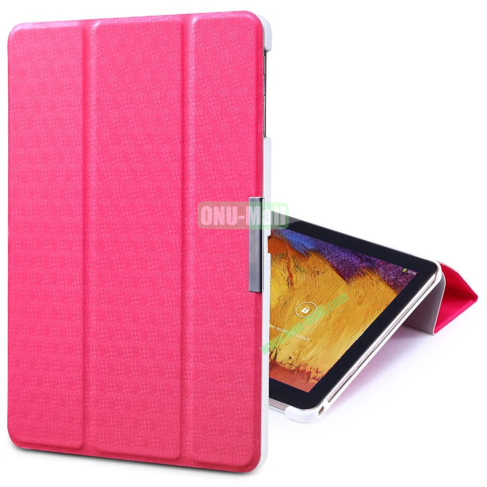 TakeFans Charm Series Magnetic Flip Leather Cover for Samsung Galaxy Note 10.1 2014 Edition (Red)