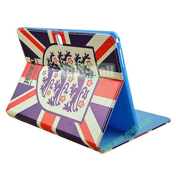 2014 FIFA World Cup Pattern TPU + PU Leather Case for Samsung P600 Galaxy Tab 10.1 Edition (UK)