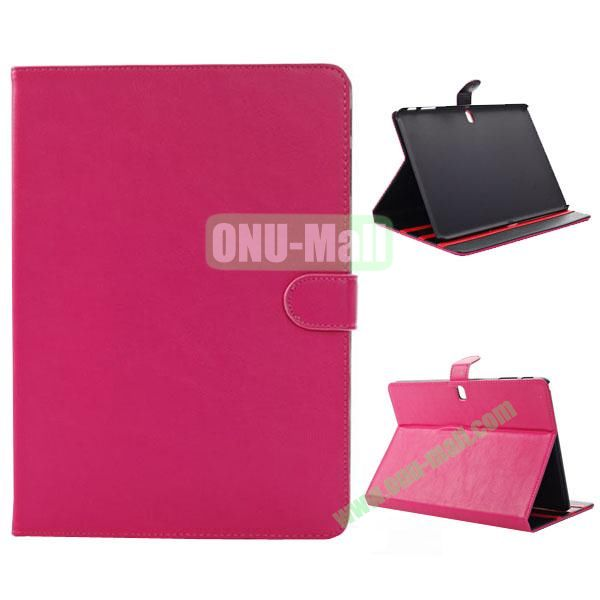 New Arrival Functional Leather Smart Cover for Samsung Galaxy Note Pro 12.2 P900 with Stand (Pink)