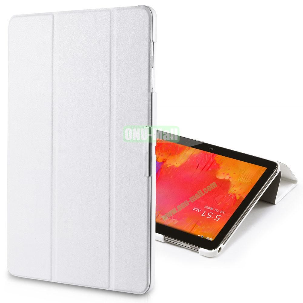 TakeFans Charm Series Stand Leather Cover for Samsung Galaxy Note Pro 12.2 P900 (White)