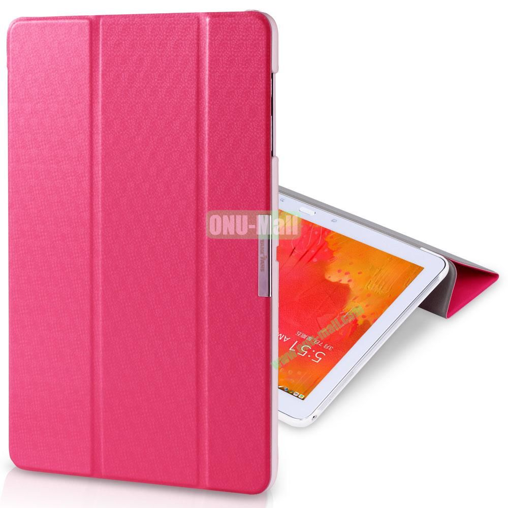 TakeFans Charm Series Stand Leather Cover for Samsung Galaxy Note Pro 12.2 P900 (Red)